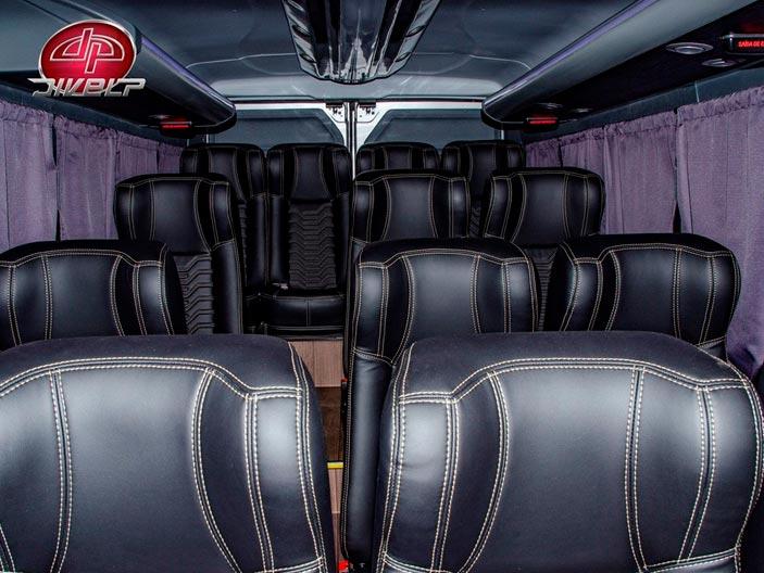 Fiat Ducato: Espaço interno mais amplo