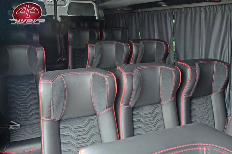 A Mercedes-Benz Sprinter 416 possui 16 lugares disponíveis - Quantos lugares tem a Mercedes-Benz Sprinter 416 CDI