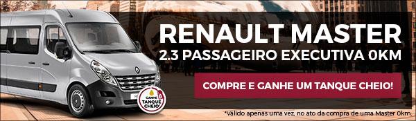 Renault Master - Bônus tanque cheio