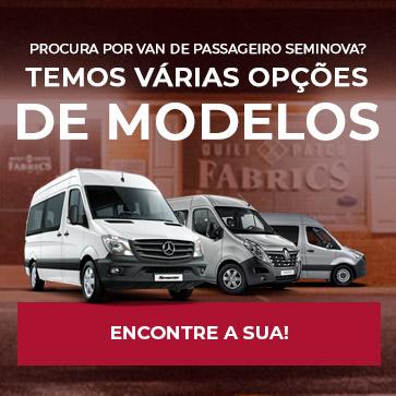 Procura por van de passageiro seminova? Temos várias opções de modelos, encontre a sua!