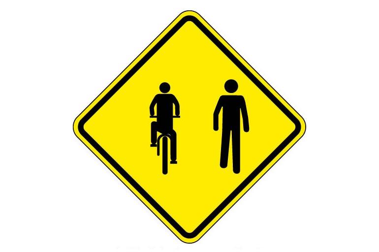 5.Trânsito compartilhado por ciclistas e pedestres A-30C