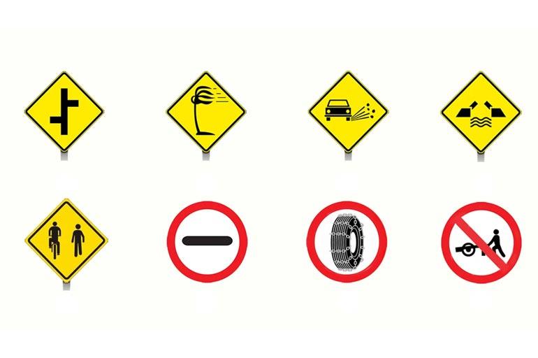 8 placas de trânsito que quase ninguém conhece o significado