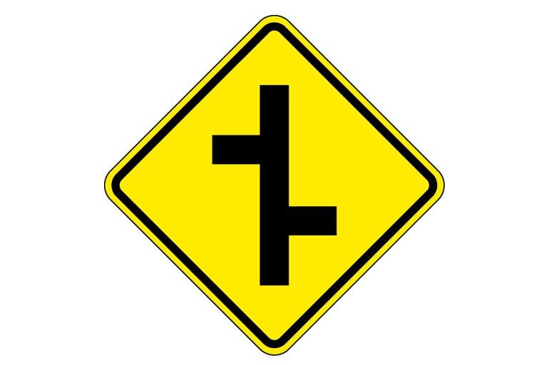 1. Junções sucessivas contrárias à direita A-11b
