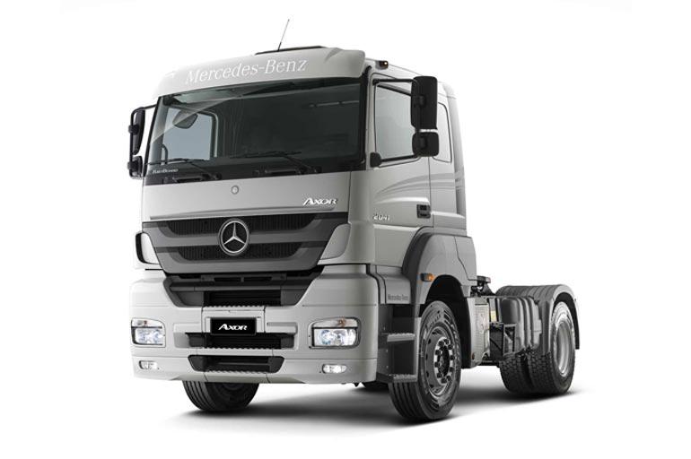 Ficha técnica Mercedes-Benz Axor 2041